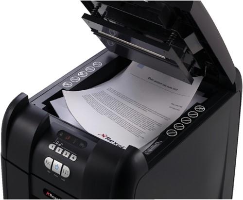 Papiervernietiger Rexel auto+ 300x snippers 4x40mm
