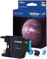 Inktcartridge Brother LC-1220C blauw