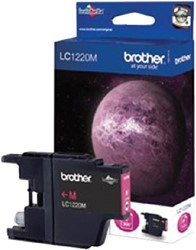 Inktcartridge Brother LC-1220M rood