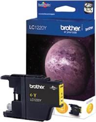 Inktcartridge Brother LC-1220Y geel