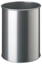 Papierbak Durable 3301-23 15liter rond zilvermetallic