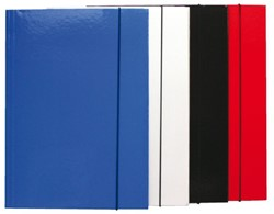 Elastomap folio 3 kleppen assorti