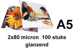 Lamineerhoes GBC A5 2x80micron 100stuks
