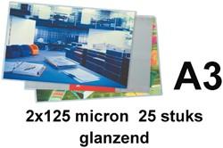 Lamineerhoes GBC A3 2x125micron 25stuk