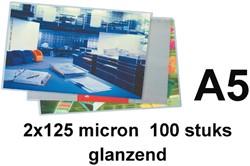 Lamineerhoes GBC A5 2x125micron 100stuks