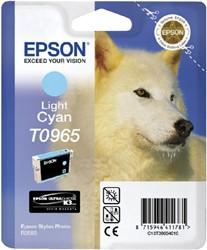 Inktcartridge Epson T0965 lichtblauw
