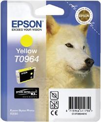 Inktcartridge Epson T0964 geel