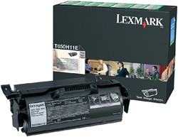 Tonercartridge Lexmark T650H11E prebate zwart HC