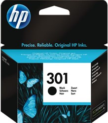 Inkcartridge HP CH561EE 301 zwart