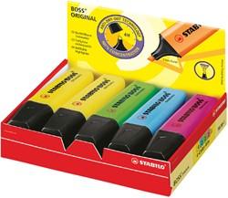 Markeerstift STABILO Boss original 70/10-1  doos à 10 (4) kleuren