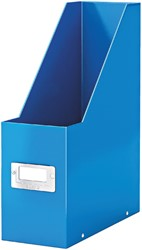 Tijdschriftcassette Leitz WOW Click & Store blauw