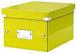 Opbergbox Leitz WOW Click & Store 200x148x250mm groen