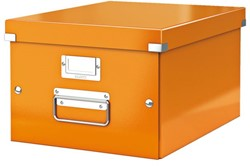 Opbergbox Leitz Click & Store 265x188x335mm oranje