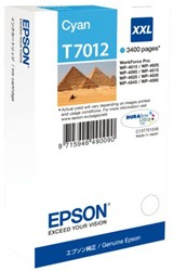 Inkcartridge Epson T7012 blauw EHC