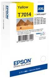 Inkcartridge Epson T7014 geel EHC