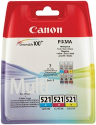 Inktcartridge Canon CLI-521 3 kleuren