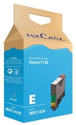 Inkcartridge Wecare Epson T128240 blauw