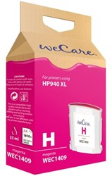 Inkcartridge Wecare HP C4908AE 940XL rood