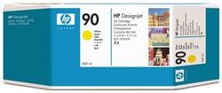 Inkcartridge HP C5065A 90 geel