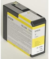 Inkcartridge Epson T580400 geel