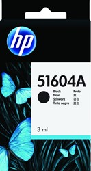 Inktcartridge HP 51604A zwart