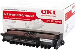 Toner Oki 01239901 zwart