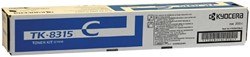 Toner Kyocera TK-8315C blauw