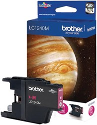 Inktcartridge Brother LC-1240M rood
