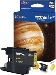 Inktcartridge Brother LC-1240Y geel