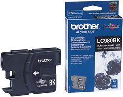 Inktcartridge Brother LC-980BK zwart