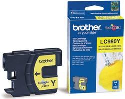 Inktcartridge Brother LC-980Y geel