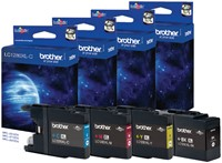 Inkcartridge Brother LC-1280XLC blauw HC-3