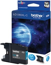 Inktcartridge Brother LC-1280XLC blauw HC