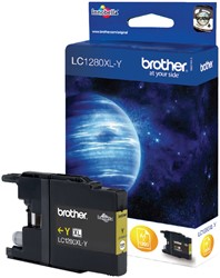 Inktcartridge Brother LC-1280XLY geel HC