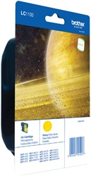 Inktcartridge Brother LC-1100YBP geel