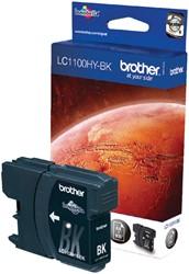 Inktcartridge Brother LC-1100HYBK zwart HC