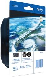 Inktcartridge Brother LC-985BK2 zwart 2x