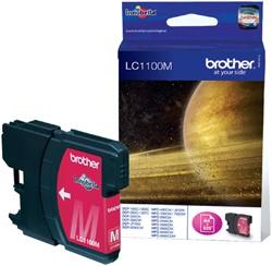 Inktcartridge Brother LC-1100M rood
