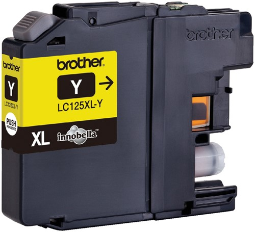 Inkcartridge Brother LC-125XLY geel HC-2