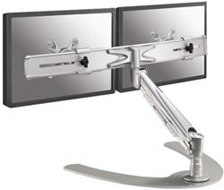 Flatscreenarm Newstar D940 2 schermen zilver