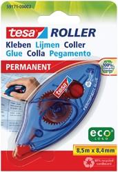 Lijmroller Tesa ecoLogo permanent op blister