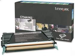 Tonercartridge Lexmark C734A1KG prebate zwart