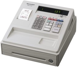 Kassa Sharp XE-A137WH wit
