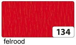 Crepepapier Folia 250x50cm nr134 rood