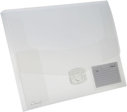 Elastobox Rexel ice 25mm transparant