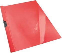 Klemmap Esselte Vivida A4 PVC Rood