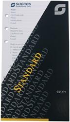 Agendavulling 2021 Succes calendarium standaard 7 dag/2 pag