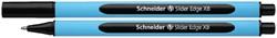 Balpen Schneider Slider Edge zwart extra breed