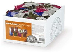 Koekjes Alex Meijer chocolade apart verpakt 125 stuks
