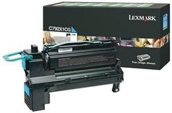 Tonercartridge Lexmark C792X1CG prebate blauw HC